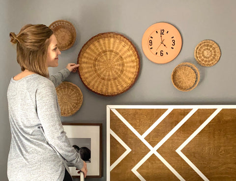 Rooted & Built Design Basket Wall