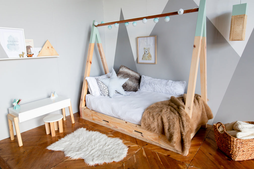 Teepee Bed  (without mattress)