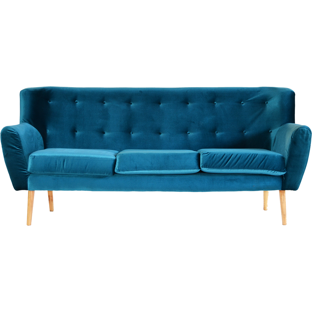 Jade Buttoned Couch
