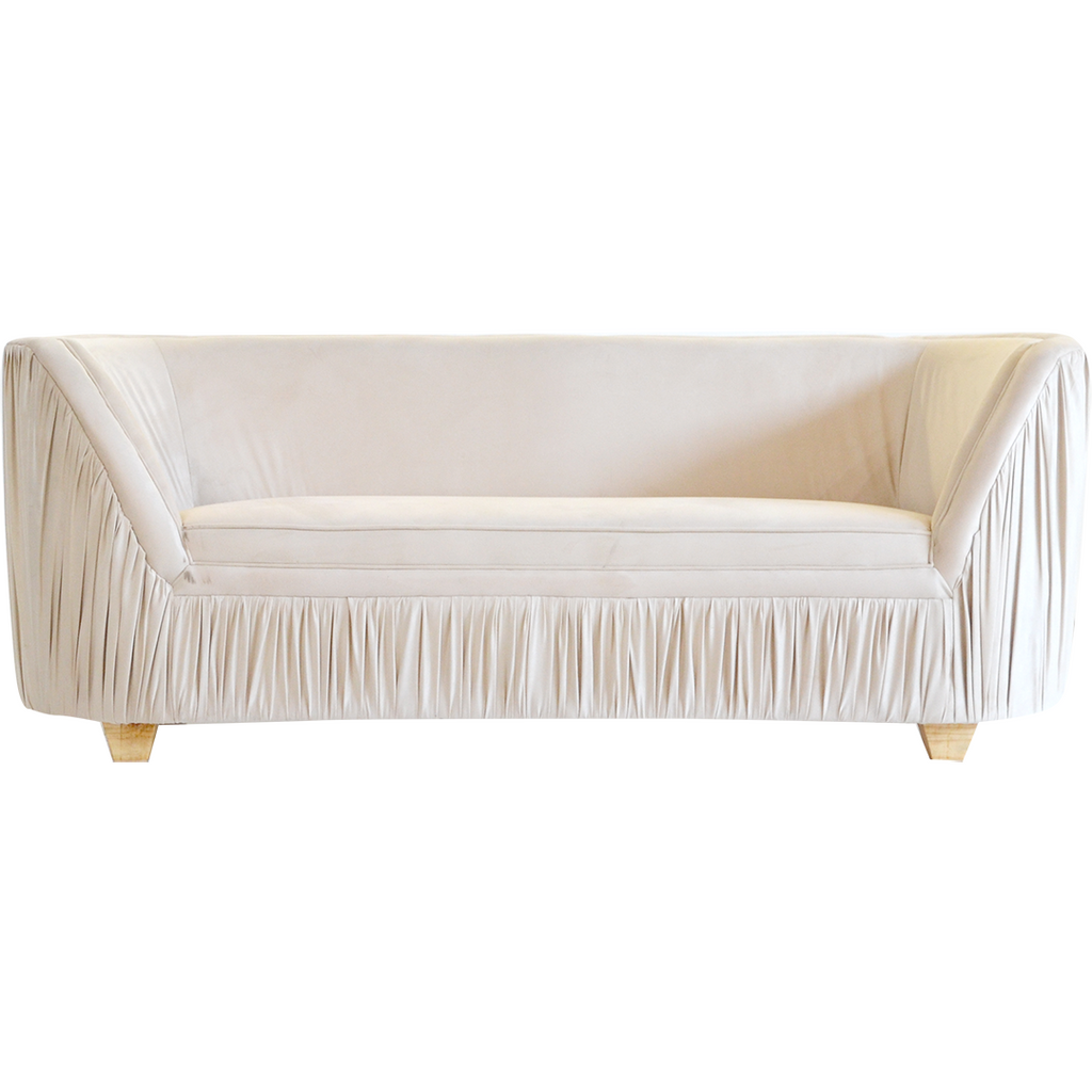 Mary Round Ruched Couch