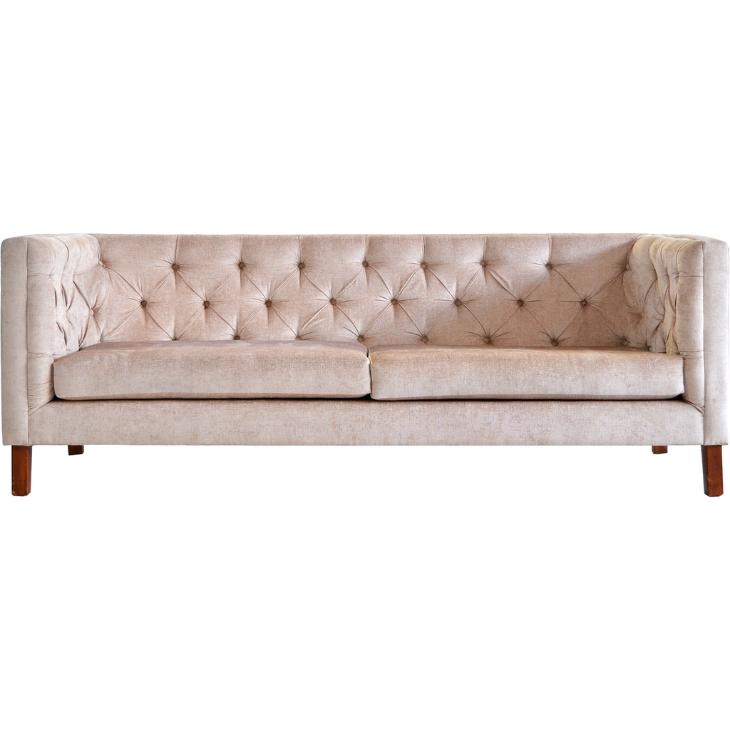 Mel Deep Buttoned Couch
