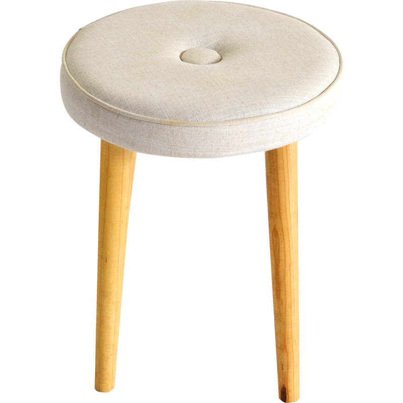 Reagan Single Button Stool