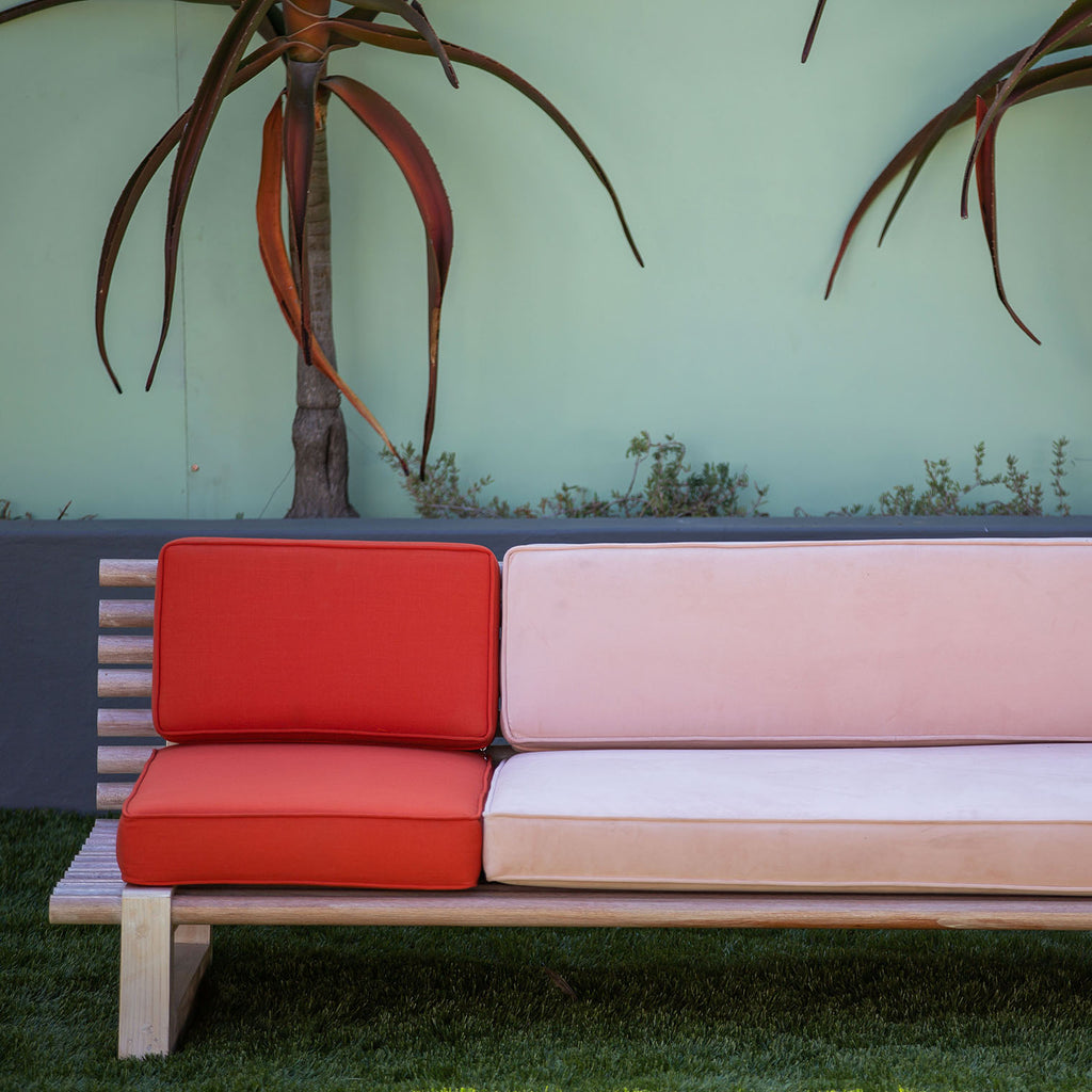 Colour Blocking Dowel Sofa