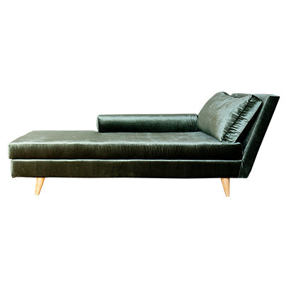 Olive Green Nursing Daybed
