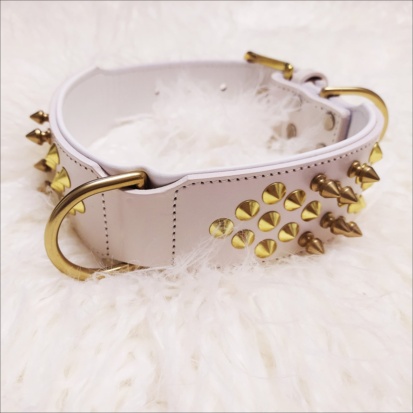 COLLAR WHITE LUX - BULLZONE