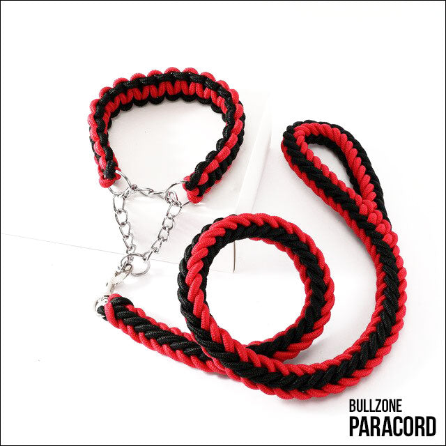 PARACORD RED/BLACK - BULLZONE