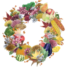 Load image into Gallery viewer, Fall Bounty Wreath