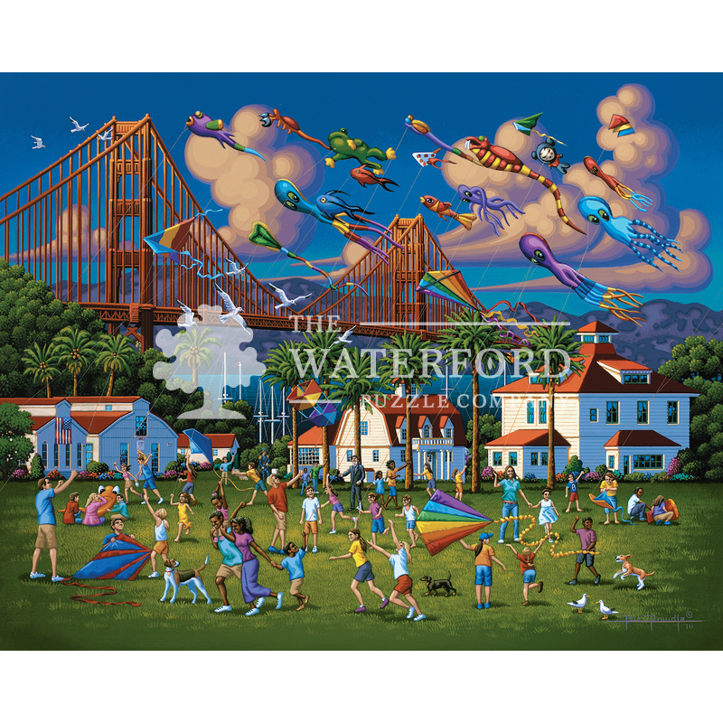 Golden Gate Bridge The Waterford Puzzle Company