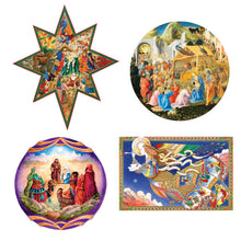 Load image into Gallery viewer, Nativities & Angels - Mini Puzzles Set (50 Pieces Each)