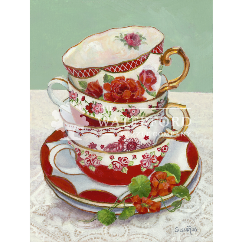 Red Teacups