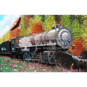 Skagway Locomotive in Autumn