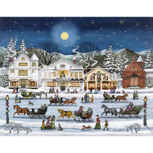 Load image into Gallery viewer, Sleigh Riding in Stockbridge
