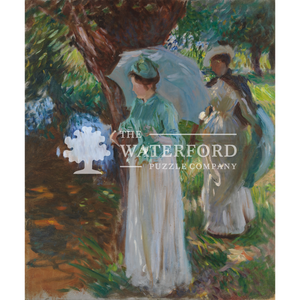 Two Girls with Parasols