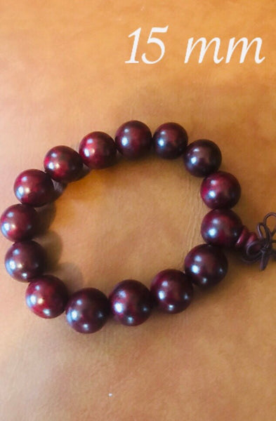 15 mm Dark Cultured Style Bracelet
