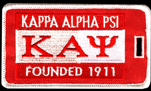 KAPPA ALPHA PSI 1911 LUGGAGE TAG