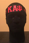 Black/Red Entreprenupe Kappa Headband