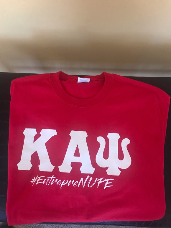 Red Kappa Entreprenupe Tee
