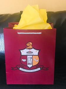 Medium Paper Gift Bag - Kappa Alpha Psi