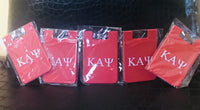 Silicone Card Holders - Kappa Alpha Psi