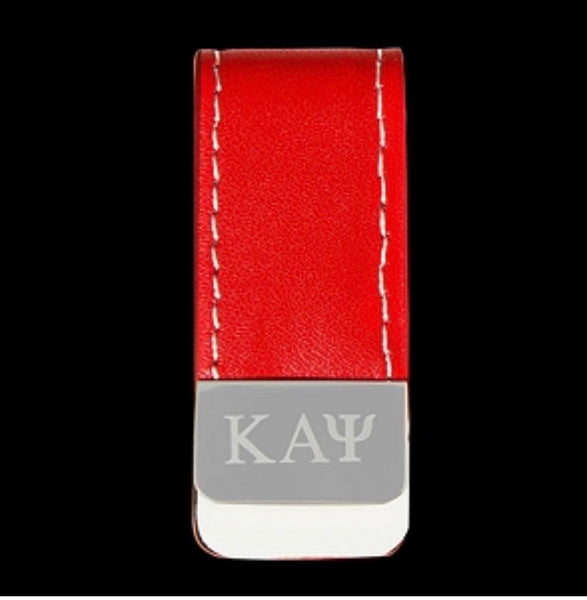 KAPPA LEATHER MONEY CLIP