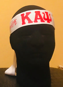 White/Red Entreprenupe Kappa Headband