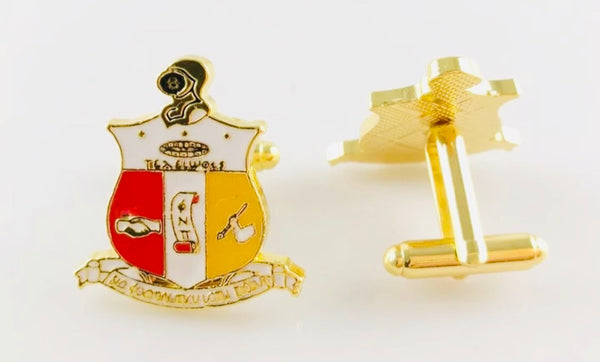 Coat Of Arms Cufflinks (Gold)