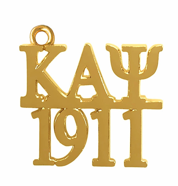 Kappa 1911 Gold Necklace Charm (chain included)