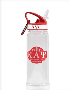 Kappa Water Bottle W/Carabiner Hook
