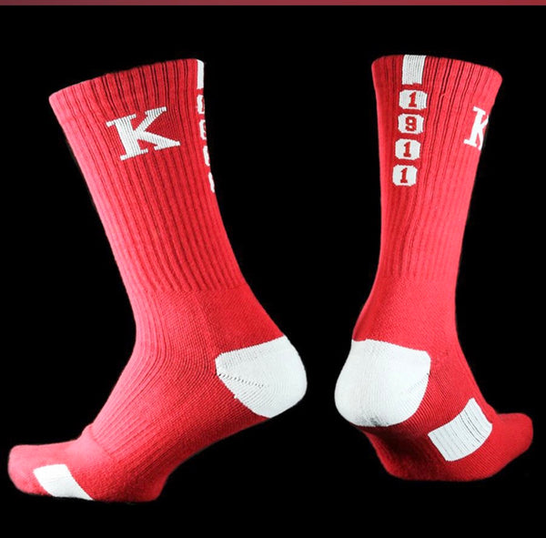 Kappa Alpha Psi (KAP) Athletic Crew Socks