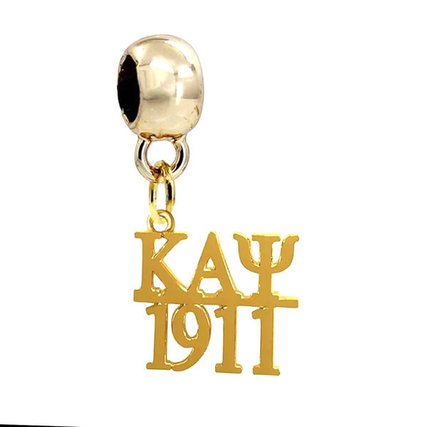Kappa 1911 Gold Charm Necklace (chain included)
