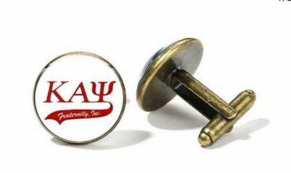 Kappa Cufflinks (Bronze)