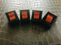 Red/Silver - Kappa Alpha Psi Cufflinks