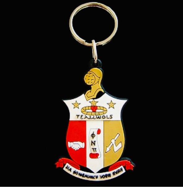 Kappa PVC Shield Crest Key Chain