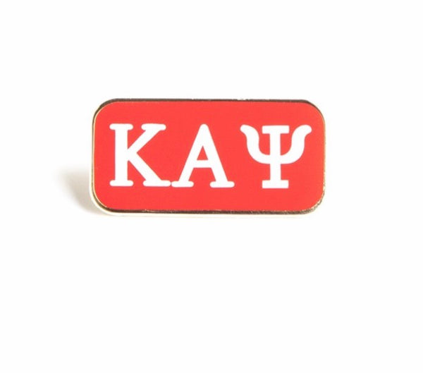 3 Letter Lapel Pin-Kappa Alpha Psi