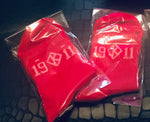 Red 1911 Kappa Ankle Socks