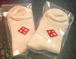 White Kappa Diamond Ankle Socks