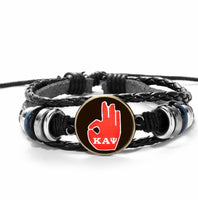 YO Leather Adjustable Bracelet