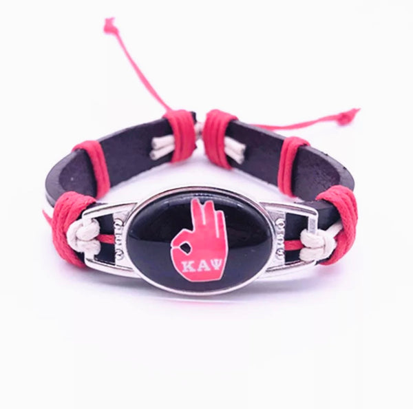 KAPPA LEATHER YO ADJUSTABLE BRACELET
