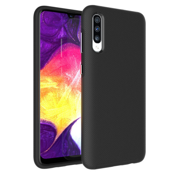Blu Element - Armour 2X Case Black for Samsung Galaxy A50