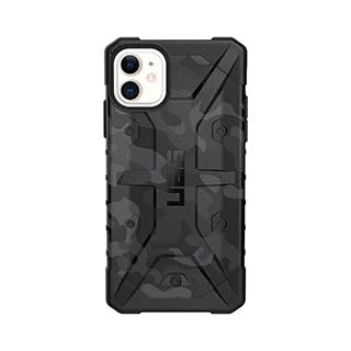 UAG Gray/Black (Midnight Camo) Pathfinder SE Case for iPhone XR, iPhone 11