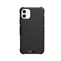 UAG Black Metropolis Folio Case for iPhone XR, iPhone 11