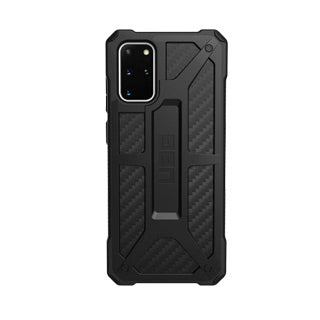 UAG Black (Carbon Fiber) Monarch Case for Samsung Galaxy S20 Monarch