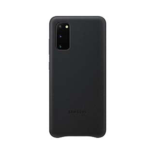 Samsung Black OEM Leather Cover Case for Samsung Galaxy S20 Ultra