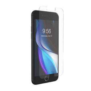 ZAGG InvisibleShield Glass Elite+ Tempered Glass Screen Protector for iPhone 7, iPhone 8, iPhone SE 2020