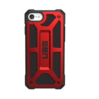 UAG Red/Black (Crimson) Monarch Case for iPhone 7, iPhone 8, iPhone SE 2020