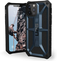 UAG Blue (Mallard) Monarch Case for iPhone 12/12 pro