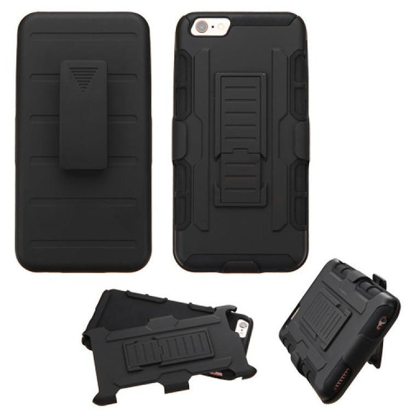 Case - Asmyna Advanced Armor Stand Protective Case With Holster For IPhone 6S Plus, IPhone 6 Plus