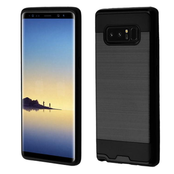 Case - Asmyna Brushed Hybrid Protective Case (Black) For Samsung Galaxy Note 8