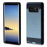 Case - Asmyna Brushed Hybrid Protective Case (Ink Blue/Black) For Samsung Galaxy Note 8
