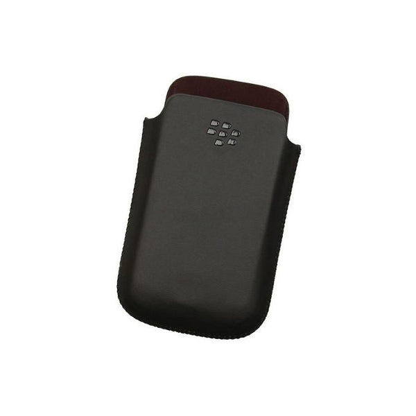 Case - BlackBerry Leather Pocket Pouch For Bold 9780, Bold 9700, Curve 8530, Curve 8900, Curve 8520